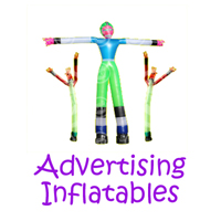 Silverado advertising inflatable rentals