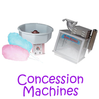 Silverado Concession machine rentals