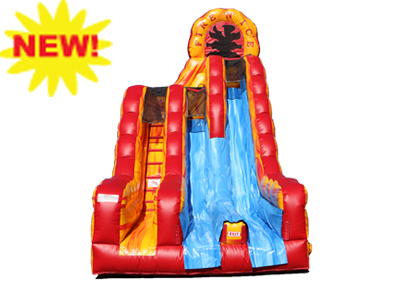 fire n ice dry slide rental