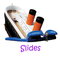 Seal Beach slide rental, Seal Beach water slides