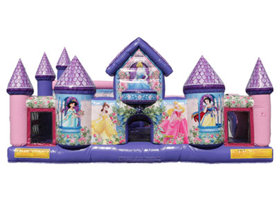 princess palace inflatable combo