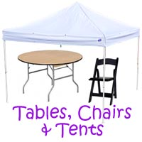 Dana Point Table Chair Rental, Dana Point Chair Rental